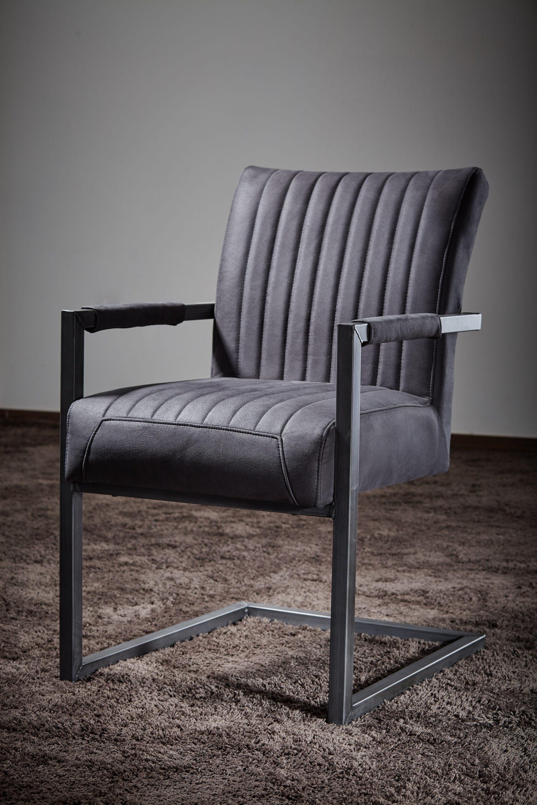 Freischwinger Stuhl Mit Armlehnen Repe Rose Handwerk Manufaktur Aus Dem Sauerland Mit Werksverkauf