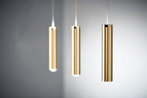 Hochwertige Messing Pendelleuchte LED dimmbar indirekte Beleuchtung zusätzlich nach oben